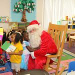 More hugs from the kids at Potter after receiving their gifts from Santa. 150x150 Potter Elementary School
