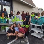 The Laser Locators team bring a mountain of items to the Humane Society of Tampa Bay. 150x150 Humane Society of Tampa Bay
